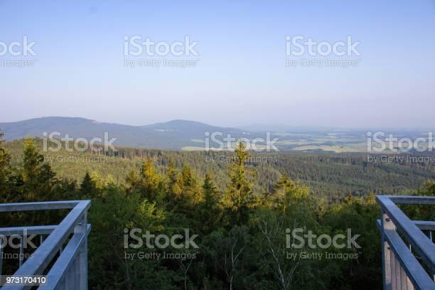 Photo of Vantage point Mandelstein looking to village Dobra Voda, Austria