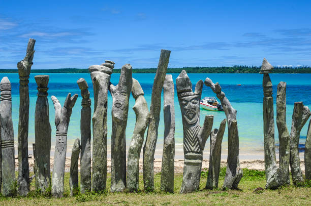 Vanuatu View of Vanuatu vanuatu stock pictures, royalty-free photos & images