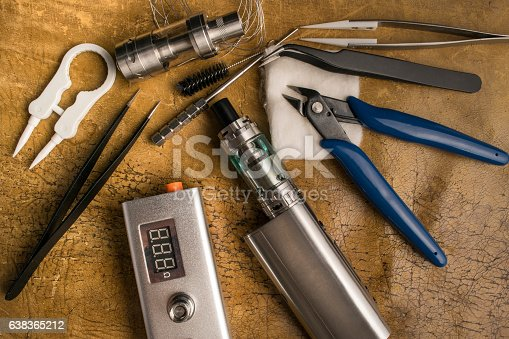 830035654istockphoto vaping tools and accessories, vaping device. 638365212