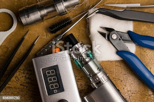 830035654istockphoto vaping tools and accessories, vaping device. 638365230