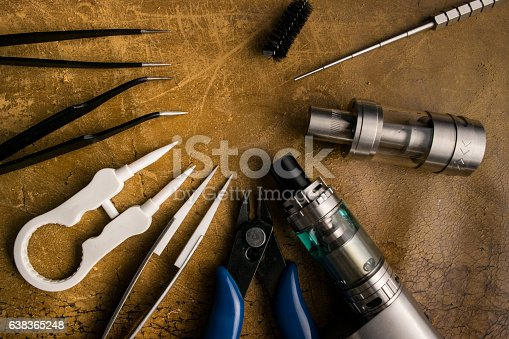 830035654istockphoto vaping tools and accessories, vaping device. 638365248