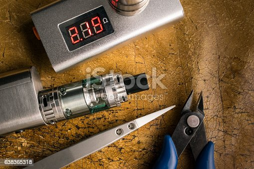 830035654istockphoto vaping tools and accessories, vaping device. 638365318