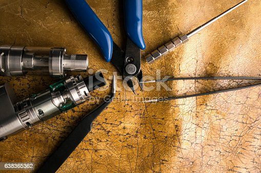 830035654istockphoto vaping tools and accessories, vaping device. 638365362