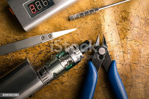 830035654istockphoto vaping tools and accessories, vaping device. 638365390