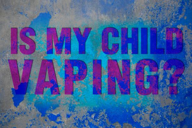 Vaping Warning Vaping Warning respiratory disease stock pictures, royalty-free photos & images