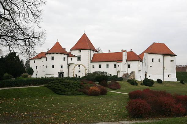 Varazdin Castle, Croatia stock photo