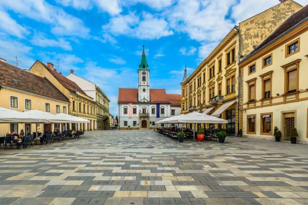 Varazdin Kroatien Stadtzentrum entfernt. – Foto