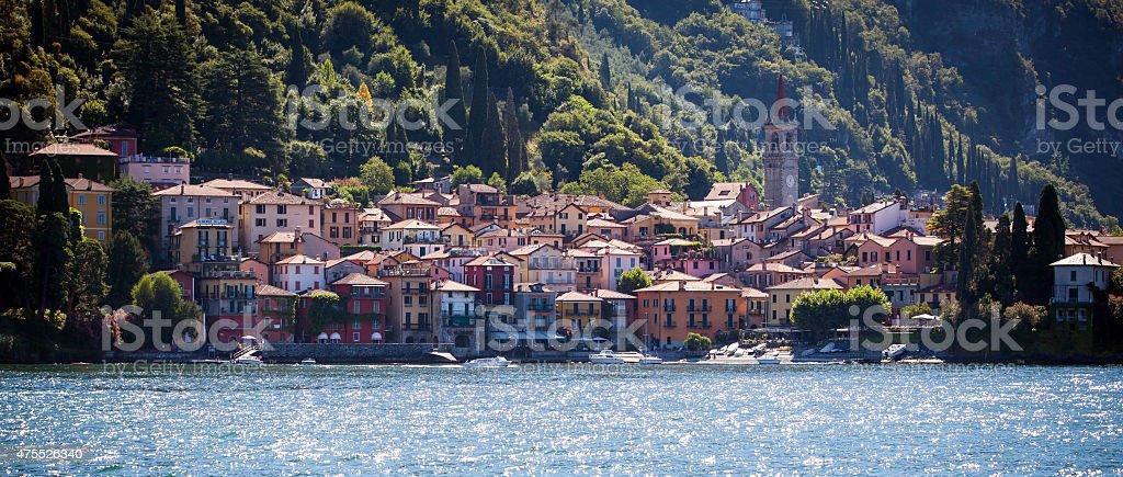 Varenna in Lake Como, Italy stock photo