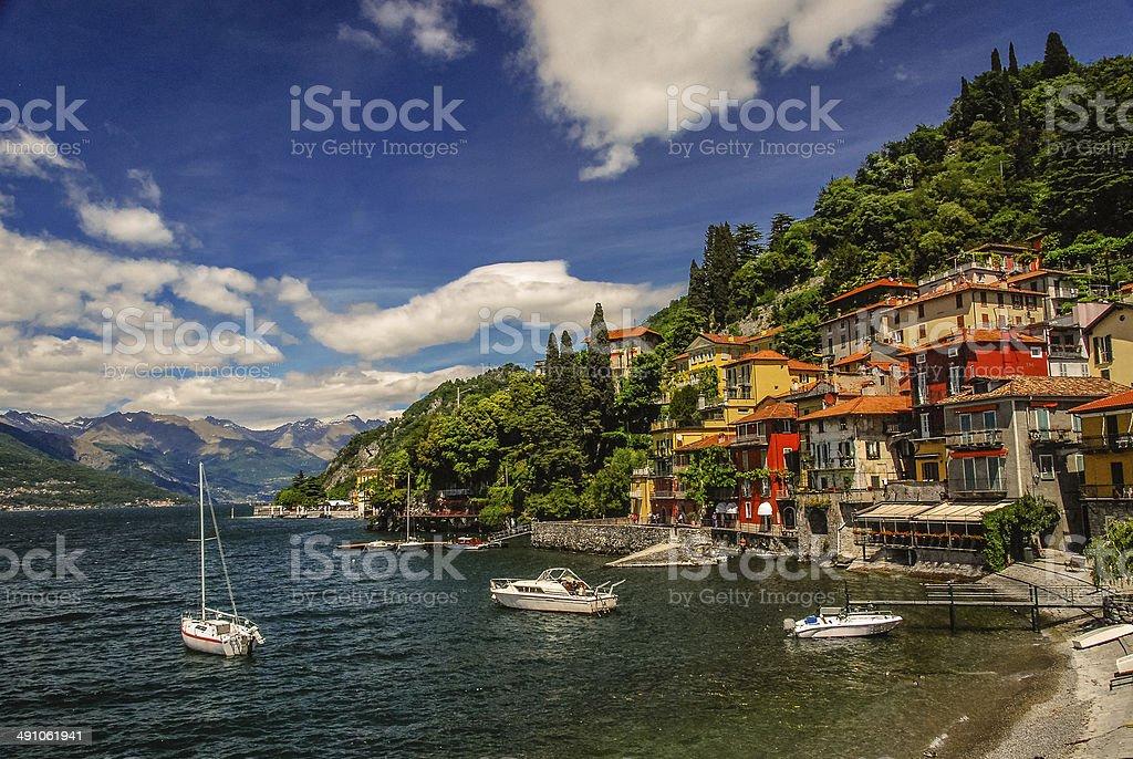 Varenna, Italy stock photo