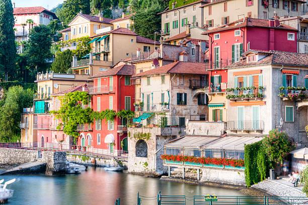 Varenna, Lago di Como stock photo