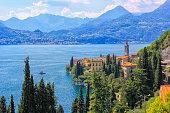 istock Varenna, lake Como, panoramic view 1198669484