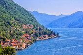 istock Varenna, panoramic view. Lake Como 1198669487