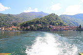 istock Varenna village on Lake Como in Lombardy, Italy 1154369639