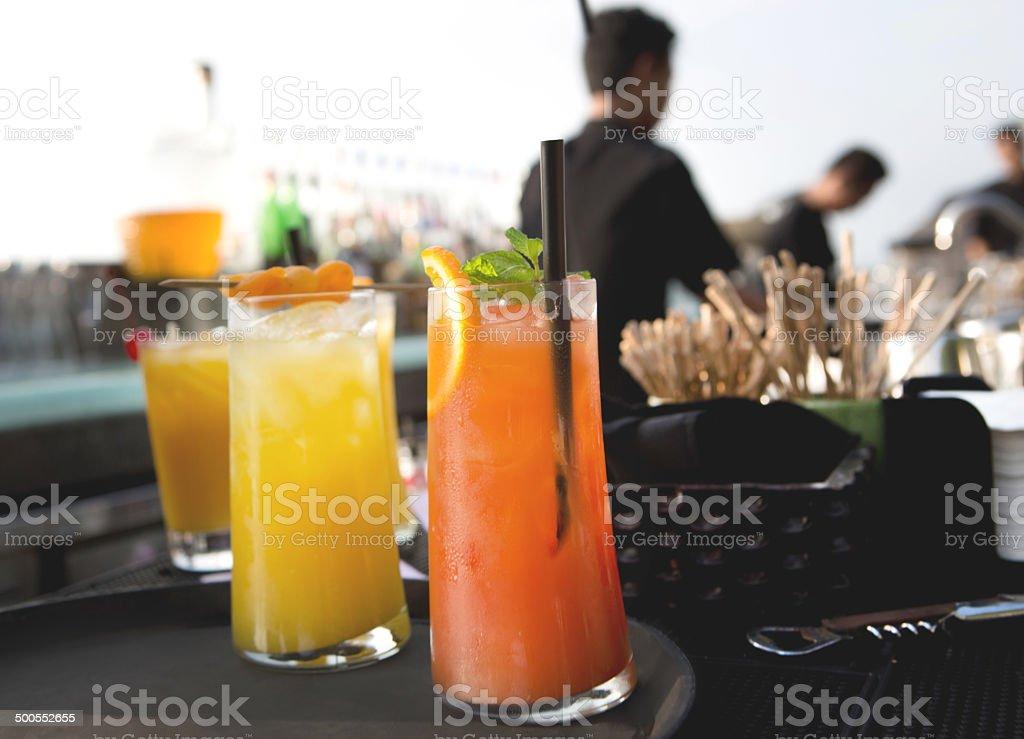 Vielfalt an drinks – Foto
