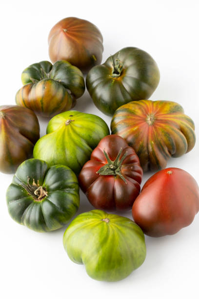 variation of tomatoes stock photo