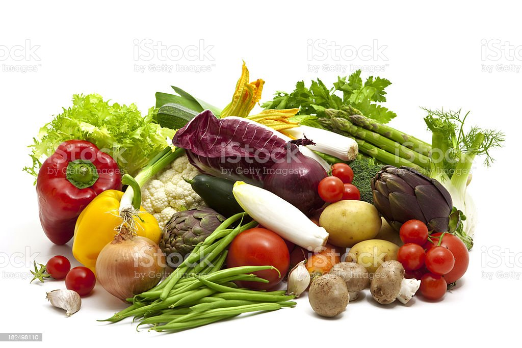 variation of vegetables royalty-free stock photo