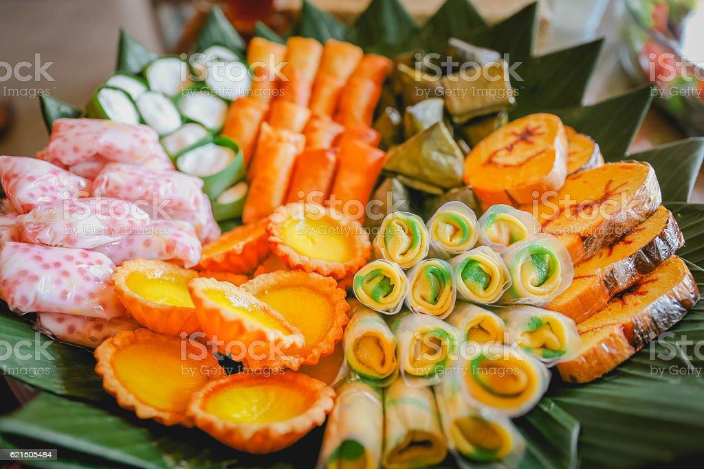 Variation sweet snack photo libre de droits