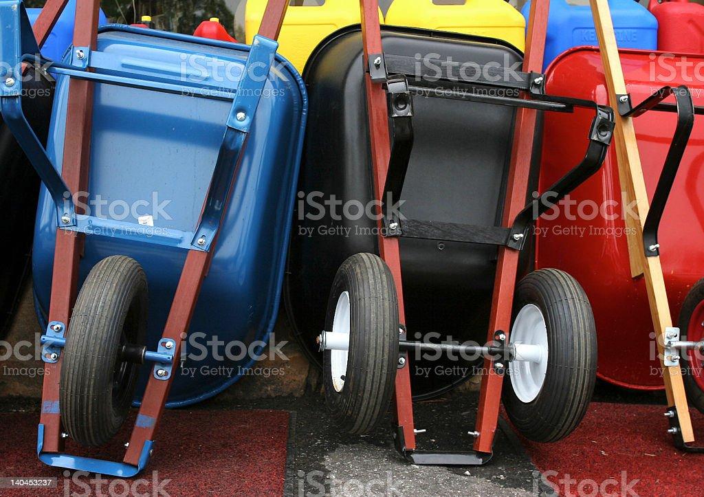 Variations on a Wheelbarrow royalty-free stock photo
