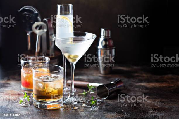 Variety of alcoholic cocktails picture id1031526354?b=1&k=6&m=1031526354&s=612x612&h=uahwf5sdpozv3t1aa6rg67vj qk b5ehveog8ilrvpk=