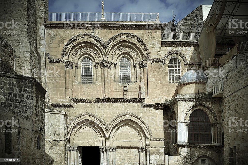 variety of architecture in Jerusalem royalty-free stock photo