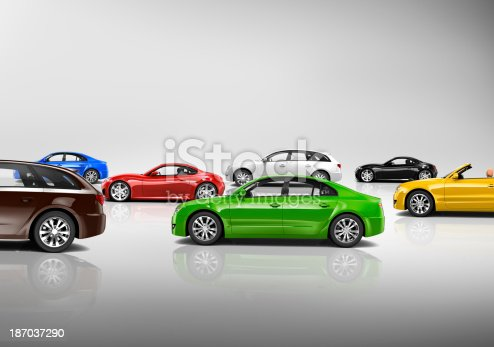 istock Variety of Car Collection 187037290