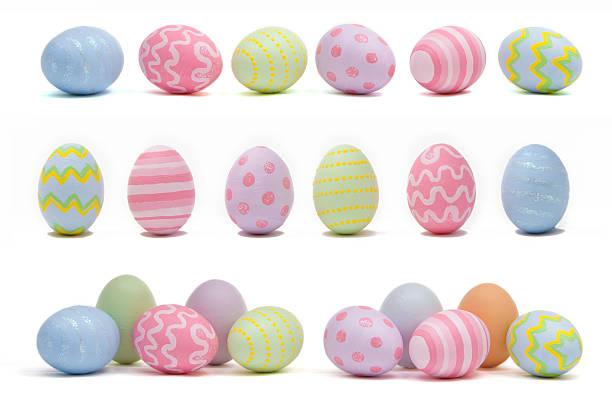 부활제 에그스 - 부활절 달걀 뉴스 사진 이미지