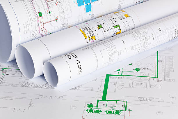 231 Hvac Blueprints Stock Photos, Pictures & Royalty-Free Images - iStock   Hvac Drawing Reading      iStock