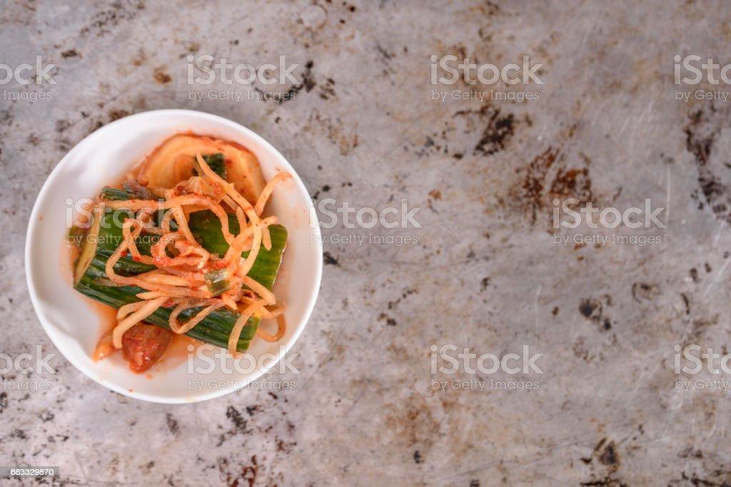 Variété de Kimchi photo libre de droits