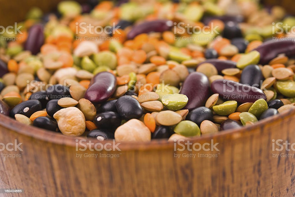 variety of legumes royalty-free stock photo