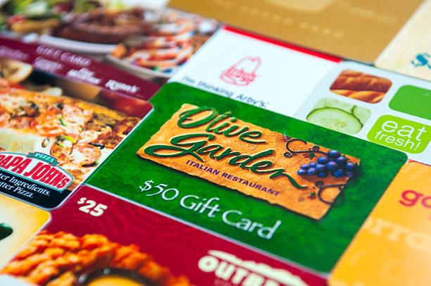 ristorante buoni regalo - subway foto e immagini stock
