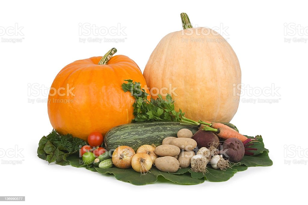 Variety of vegetables. royalty-free stock photo