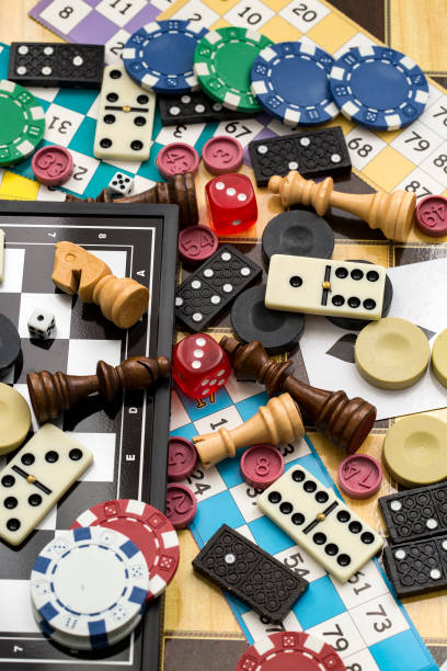 various board games, leisure, hobby. background games. - backgammon stock pictures, royalty-free photos & images
