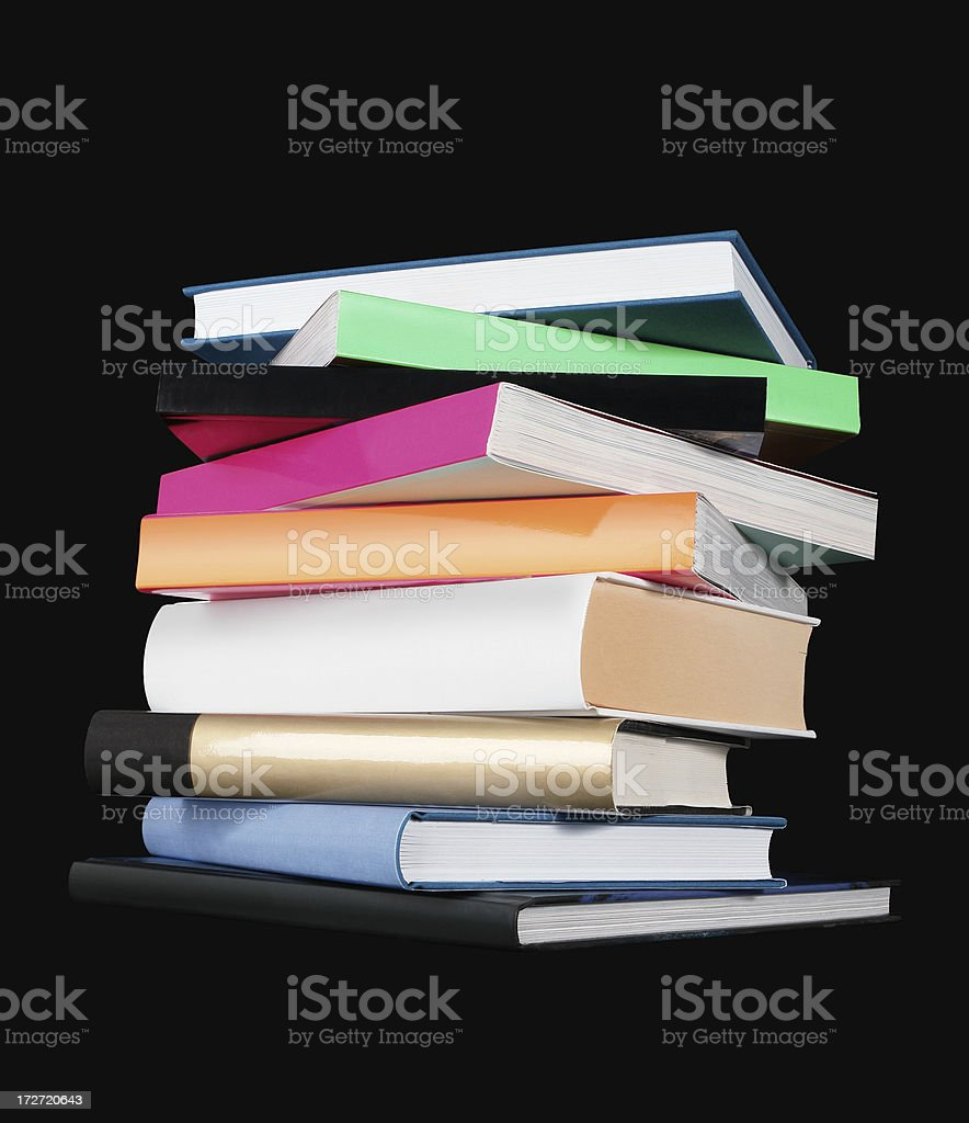 Various Books royalty-free stock photo