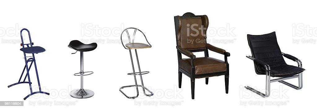 다양한 의자 royalty-free 스톡 사진