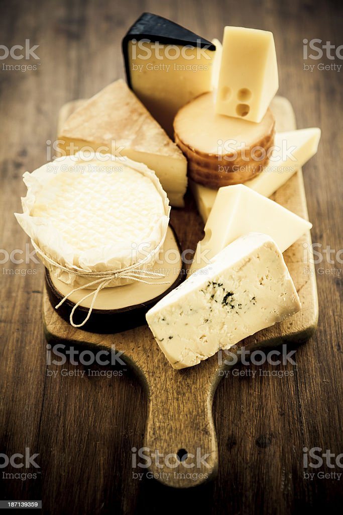 Various Cheese stock photo