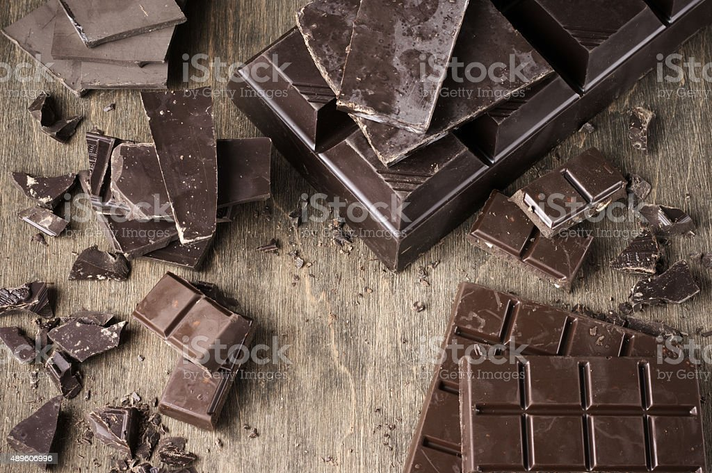 Various chocolate stock photo