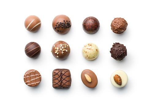 各種巧克力果仁 照片檔及更多 上癮 照片
