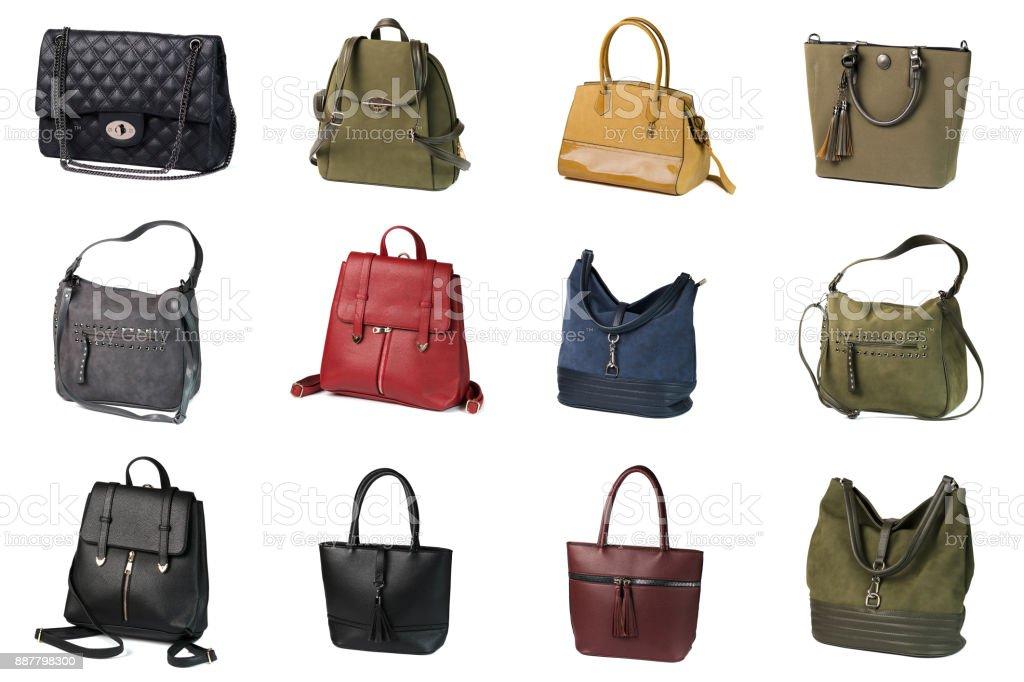 Varios bolsos de embrague - foto de stock