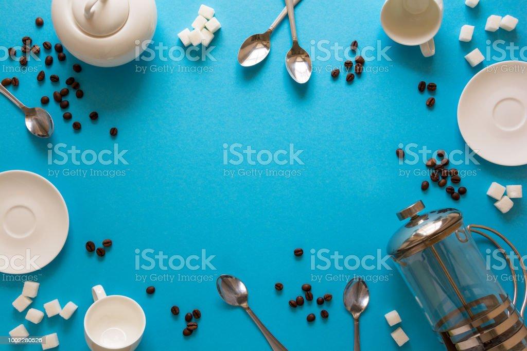 Verschiedene Kaffee Zubehör Französisch Kaffee Presse Tassen