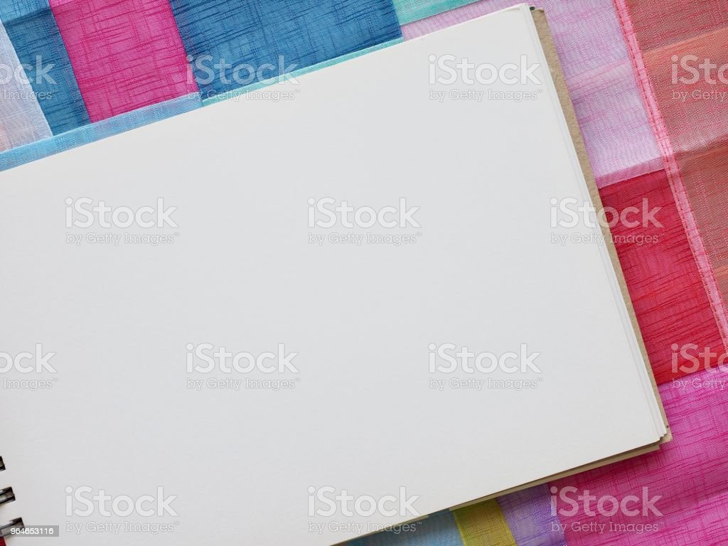 Various color background and practice field royalty-free stock photo