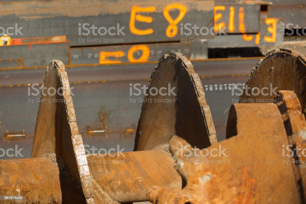 Various Construction Equipment stock photo