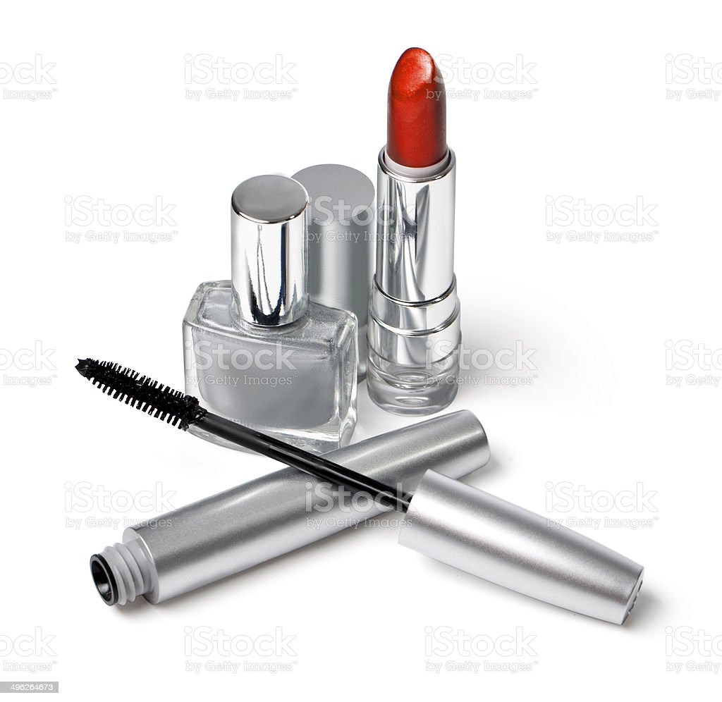 Various Cosmetics royalty-free stock photo