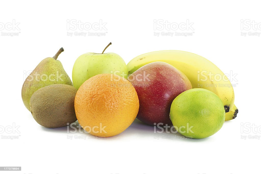 Various delicious fruits royalty-free stock photo