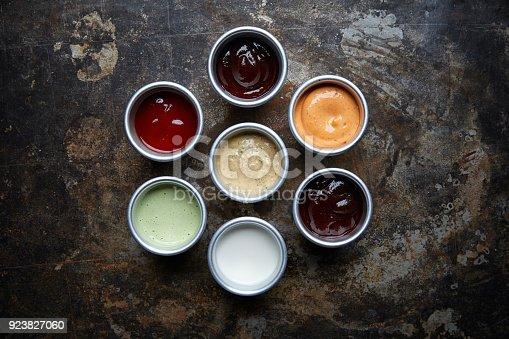Various dip sauces