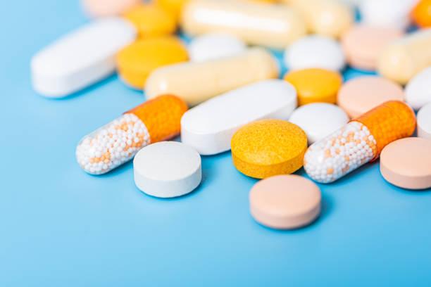 Various Drugs stock photo