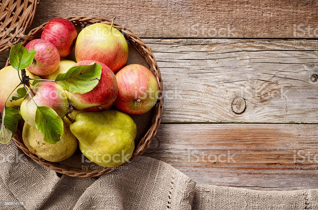 various fresh fruits stock photo