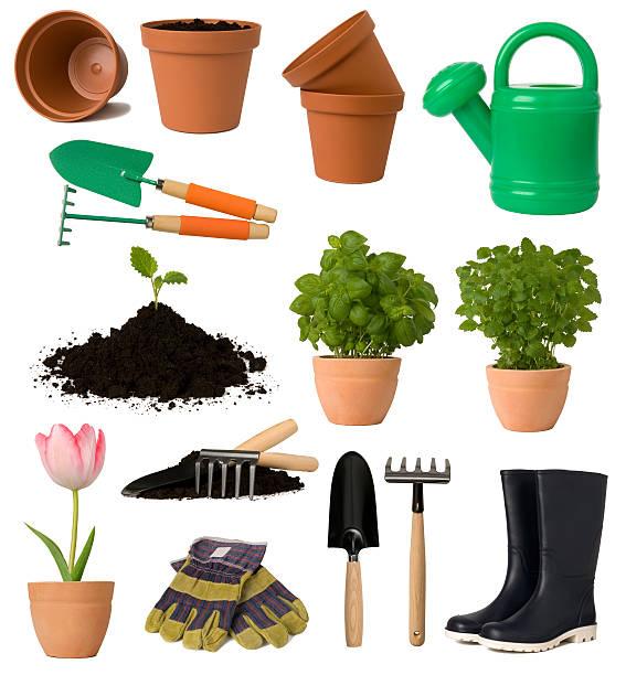 sprzęt ogrodniczy - sprzęt ogrodniczy zdjęcia i obrazy z banku zdjęć