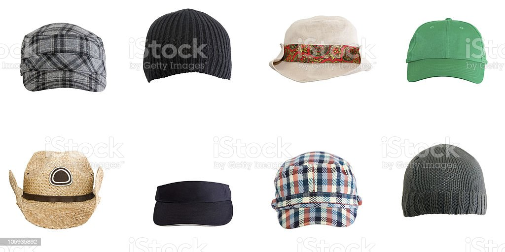 Various Hats stock photo