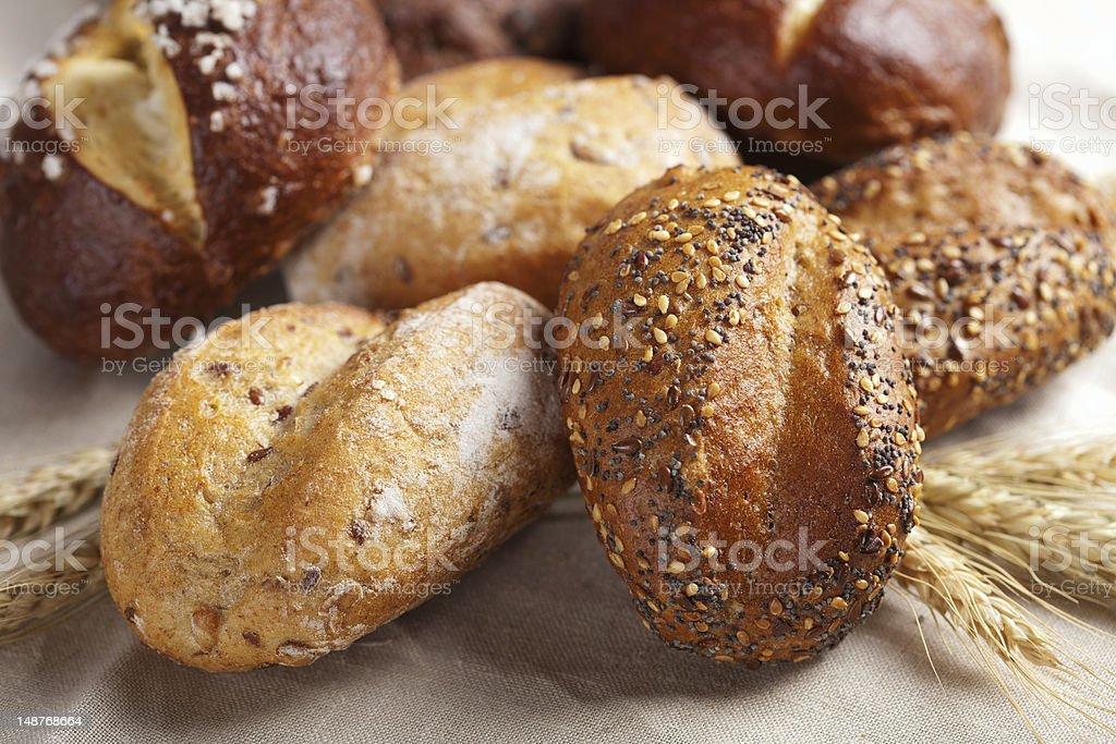 various healthy bread stock photo