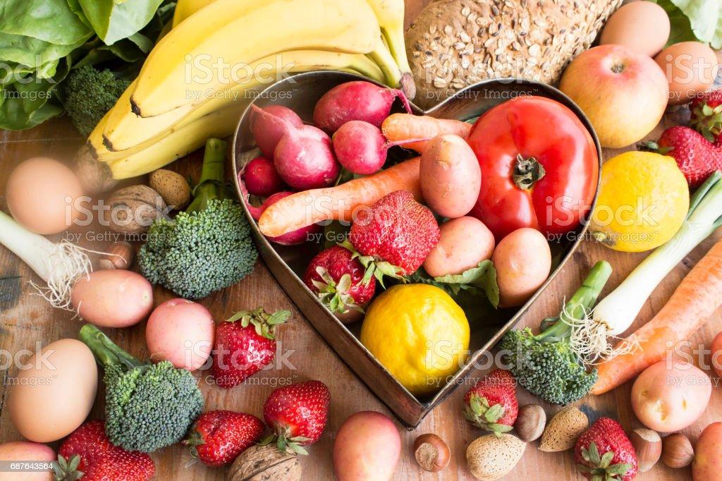 Various Healthy Food – Foto